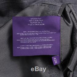 Ralph Lauren Purple Label Slim-Fit'Anthony' Gray Year-Round Wool Suit 42R NWT