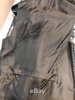 Ralph Lauren Purple Label Slim Fit Men 3pc Suit 40L(US) Double Breasted Vest