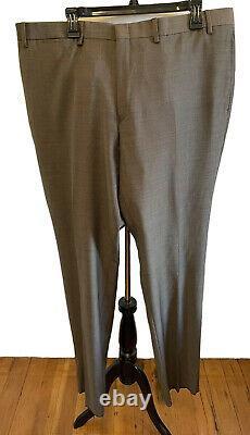 Ralph Lauren Slim Fit Mens Designer Suit Brown Pindot Size 46R NWT $650
