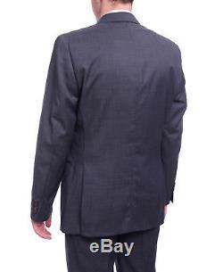 Ralph Lauren Slim Fit Navy Blue Pindot Two Button Wool Suit