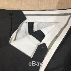 Recent CANALI 1934 Solid Gray 2 Btn Slim Fit Wool Suit 44 R