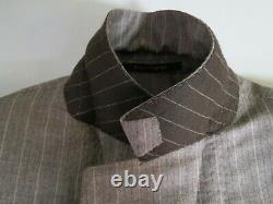 Recent Ermenegildo Zegna Hand Finished Fit MILA side vented flat front suit 40 R
