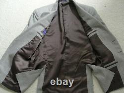 Recent Ralph Lauren Purple Label Men's Suit Brown Wool Modern Fit Sz-38s/W33