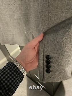 Reiss 3 piece Slim fit suit in grey 40, wedding, christening, Specialoccasions