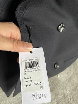 Reiss Bamburgh Navy Slim Fit Suit 38r BNWT Mr Porter