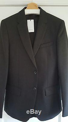 Reiss'Farrow' Slim Fit Suit -Charcoal- 100% Wool Size 38 BNWT