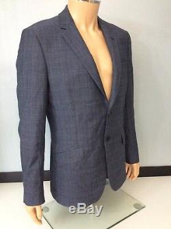 Reiss Mens 2 Piece Slim Fit Suit, Chest 40, W34 Blue, New, Bnwot