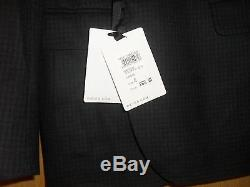 Reiss Premium Wool Slim Fit Suit = RRP £380 = CHEST 42 = CHARCOAL = NEVER WORN