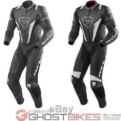 Rev It Venom One Piece Motorcycle Suit Slim Fit Leather Racing Vented GhostBikes