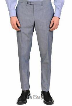 SARTORIO Napoli by KITON Light Blue Cotton Suit EU 50 NEW US 40 Slim Fit