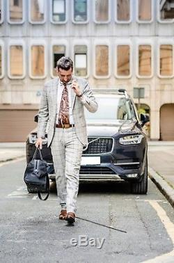 SUITSUPPLY Lazio Suit Wool from Vitale Barberis Canonico Slim Fit EU98 / UK40L