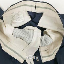 SuitSupply Havana Navy Blue Reda S110's Wool Slim Fit Suit 42 44 R Pants 38 x 29