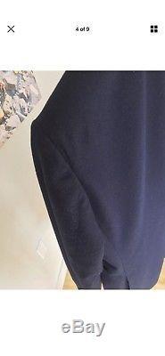 Suitsupply Havana Suit 38R VBC Navy Flannel Slim Fit 38 US Patch Pockets