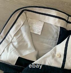 Suitsupply Lazio Slim Fit Wool-Silk-Linen Suit EU 50 R US 40 Melange Solid Great