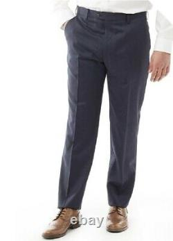 Ted Baker Modern Fit Decadent Debonair Two Piece Suit Midnight Blue Size 44L