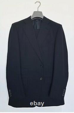 Tom Ford Midnight Blue/Navy Regency Suit 54IT/44US Slim Fit Bond QOS 007