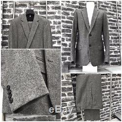 UltraRare&Gorgeous Dior Homme AW05 Hedi Slimane Slim Fit Flannel Suit