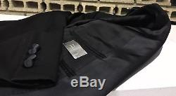 UltraRare & Gorgeous Dior Homme SS08 Hedi Slimane Slim Fit Tuxedo Wool Suit