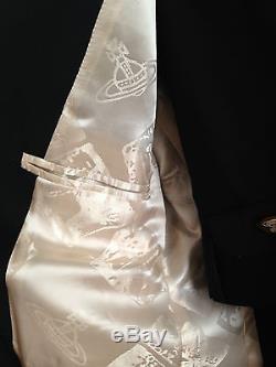VIVIENNE WESTWOOD MAN Classic Suit Slim fit Black UK36/IT46 New with Tag