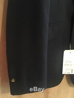 VIVIENNE WESTWOOD MAN Navy James suit size 52/uk42 Slim Fit BNWT RRP £900