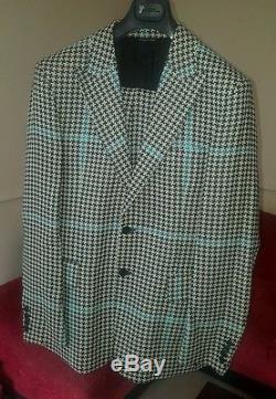 Versus Versace Multicolor Suit UK 40 Slim fit- Save ££££ Eye-catching Suit