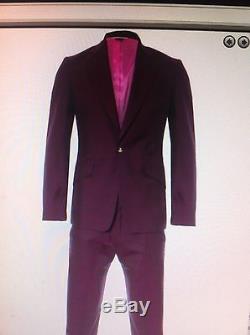 Vivienne Westwood MAN PURPLE Slim Fit''james Suit. Size 44(UK34) RRP £665