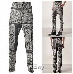 Vivienne Westwood Man Slim Fit Grey Mosaic Jacquard Wool Suit. Uk 38r It 48r