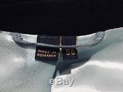 Vivienne Westwood Navy Wool Suit /Jacket + pants Set IT56 Uk46 Slim Fit New