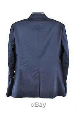 Vivienne Westwood Slim Fit Metallic Blue Suit Size 52 RRP649 D169
