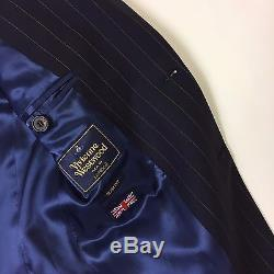 Vivienne Westwood Slim Fit Navy Suit UK38 Chest NEW WITH TAGS RRP £1100