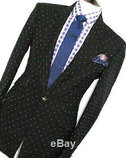 Vtg 1990s Luxury Mens Vivienne Westwood London Slim Fit Suit 38r W32 X L32