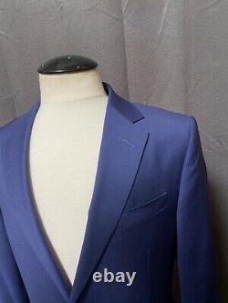 Z Zegna Royal Blue 2-BT Slim fit Suit EU48/US38R Drop8 W33