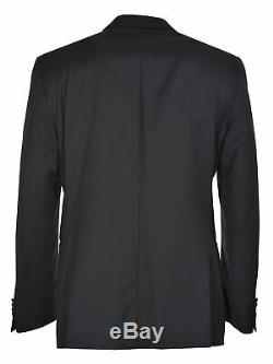 Zegna Mens City Slim Fit Wool Tuxedo Jacket 38 Regular 38R Black Suit-Separate